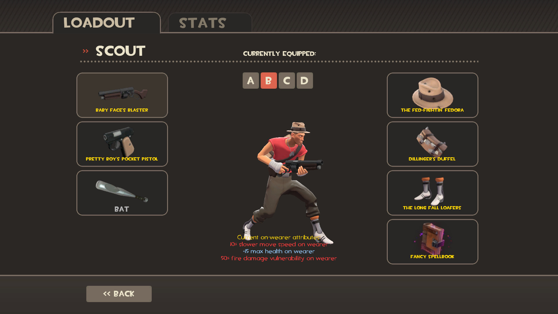 Scout Loadout - Public enemy+Spellbook and Loafers by ...