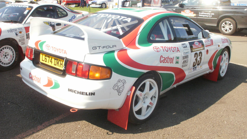 C.C. Rally Day 2015 - Toyota Celica ST205 Group A by MKBrony on ...