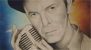 David Bowie Bowie does Sinatra by monstarart