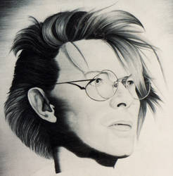 Bowie speakerwasanangel by monstarart
