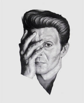 David Bowie Pretty Pink Rose