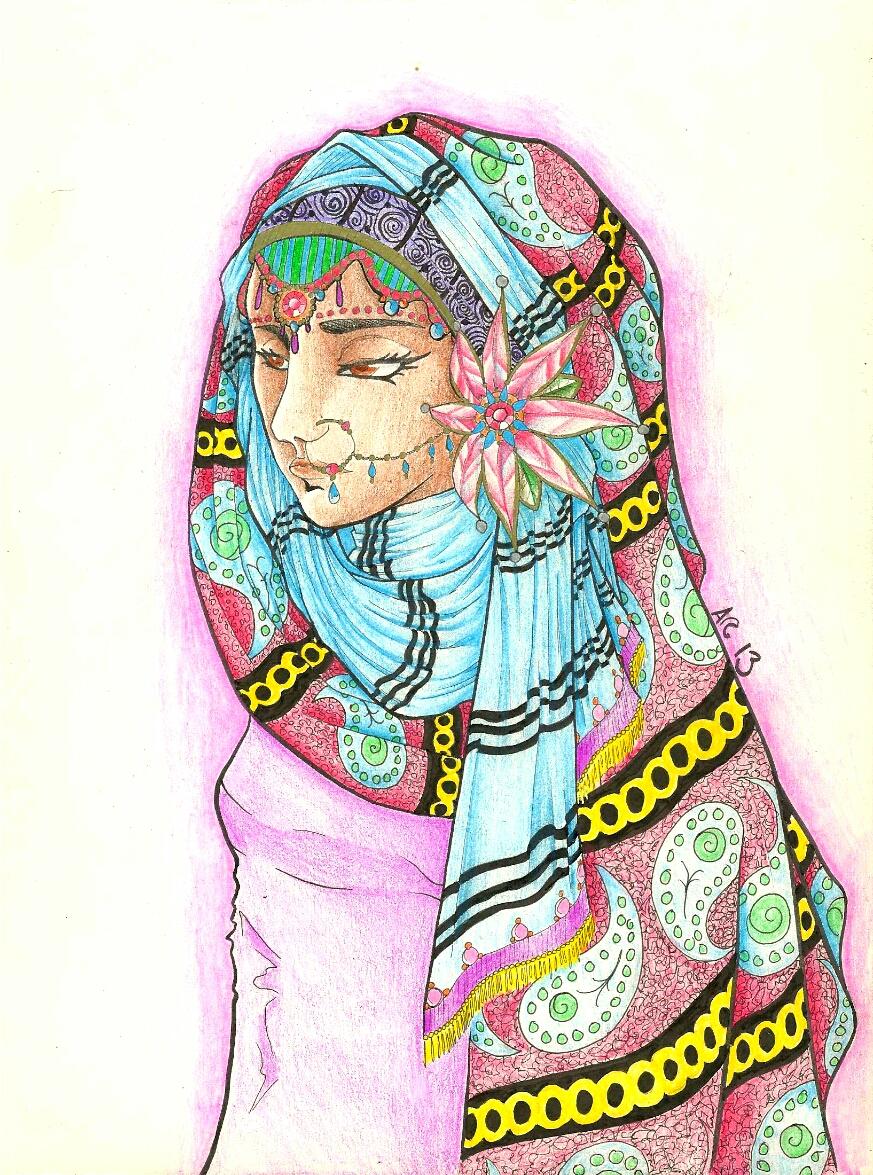 Bride- colored