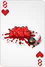 8 of hearts by arrioch