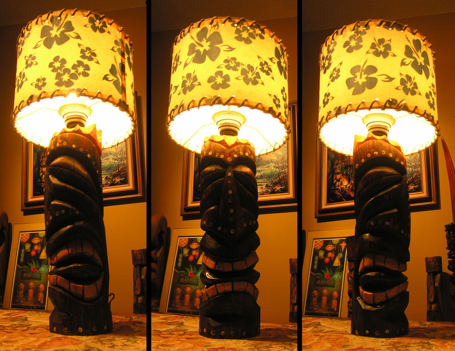 Tiki Lamp 2 by tflounder