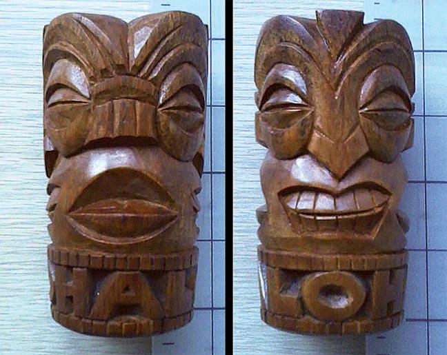 4-way Tiki Shot Mug by tflounder