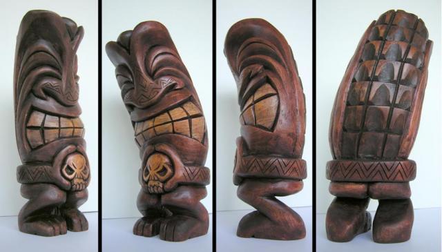 Dancing Tiki by tflounder
