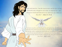 Jesus - The Risen King by Feesu-san