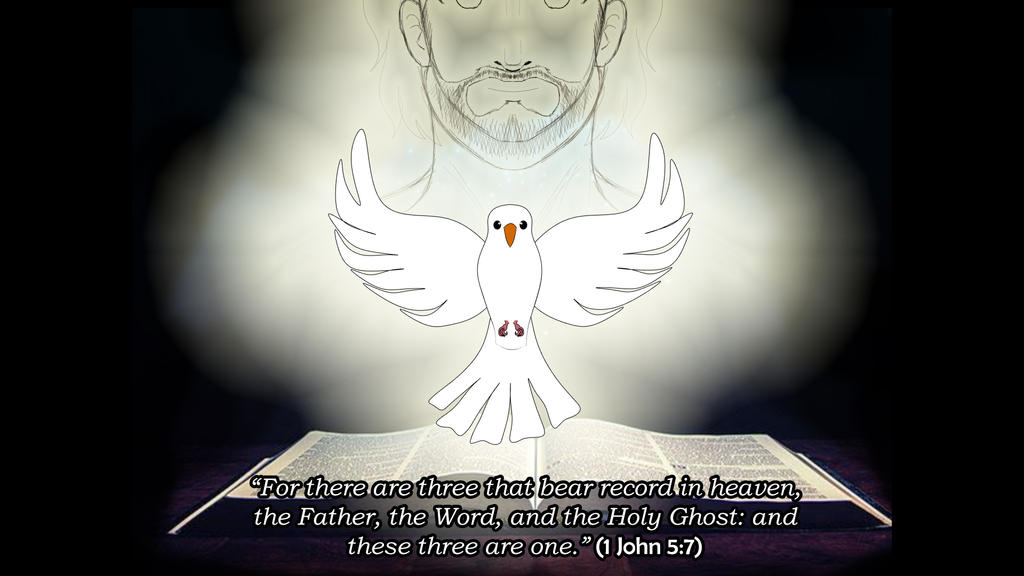IDOTB - 1 John 5:7 by Feesu-san