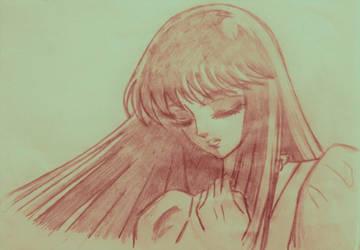Saori Kido Sketch by Digitale84