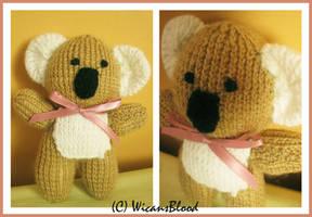 Knitted Koala by WicansBlood