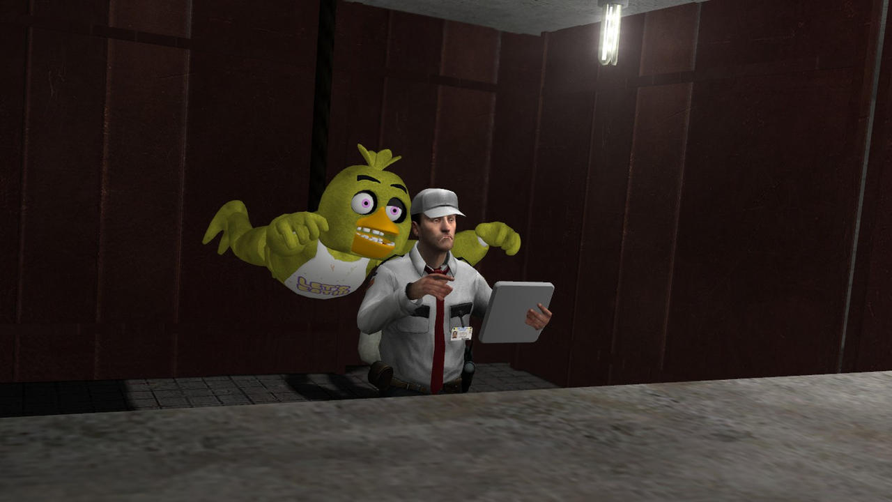 Mission Implausible (funny FNaF Gmod fanart) by Aeropulse on