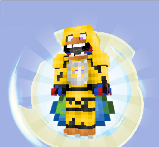 Withered Chica Minecraft skin (link in desc ) by Aeropulse