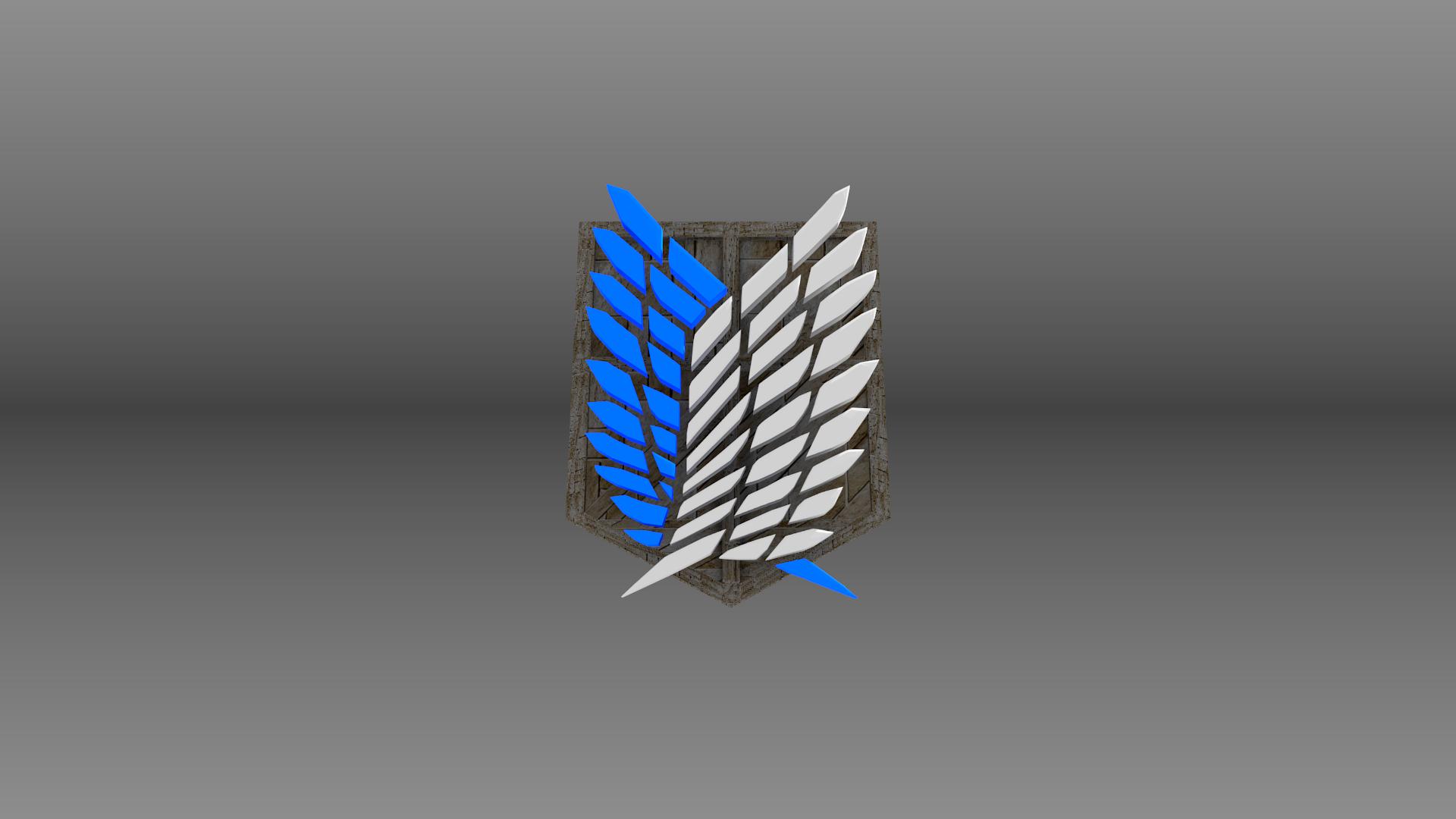 Attack On Titan Scouts Emblem Wallpaper By Aeropulse On Deviantart