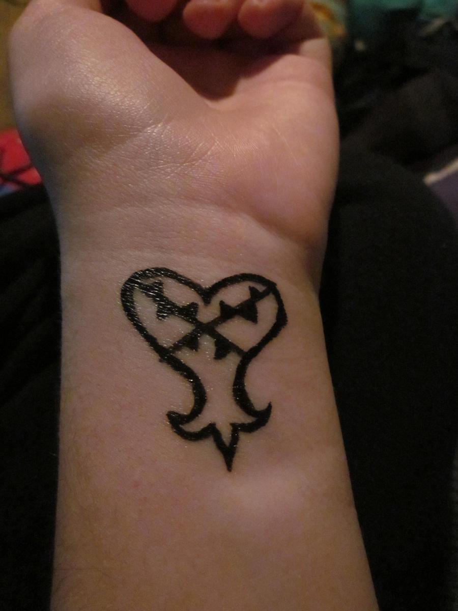 Heartless Temporary Tattoo Meri Chan Deviantart
