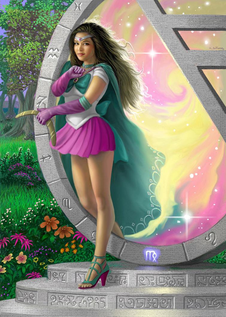 Sailor Virgo by AlanGutierrezArt