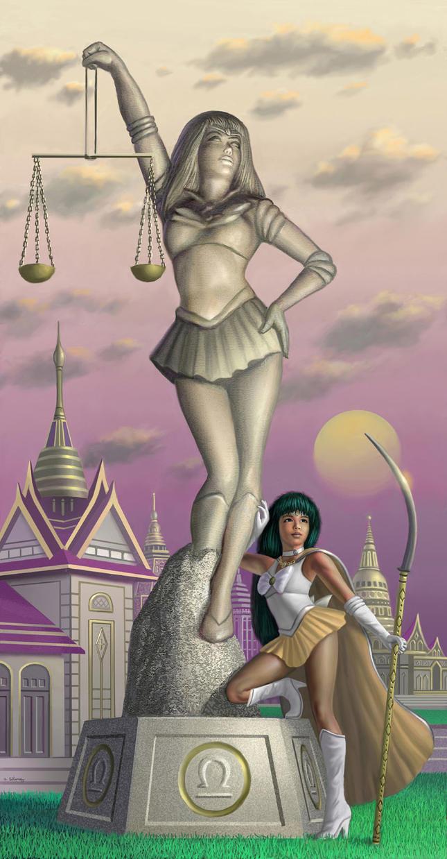 Sailor Libra by AlanGutierrezArt