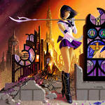 Pretty Soldier Sailor Saturn