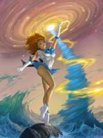 Sailor Nereid by AlanGutierrezArt