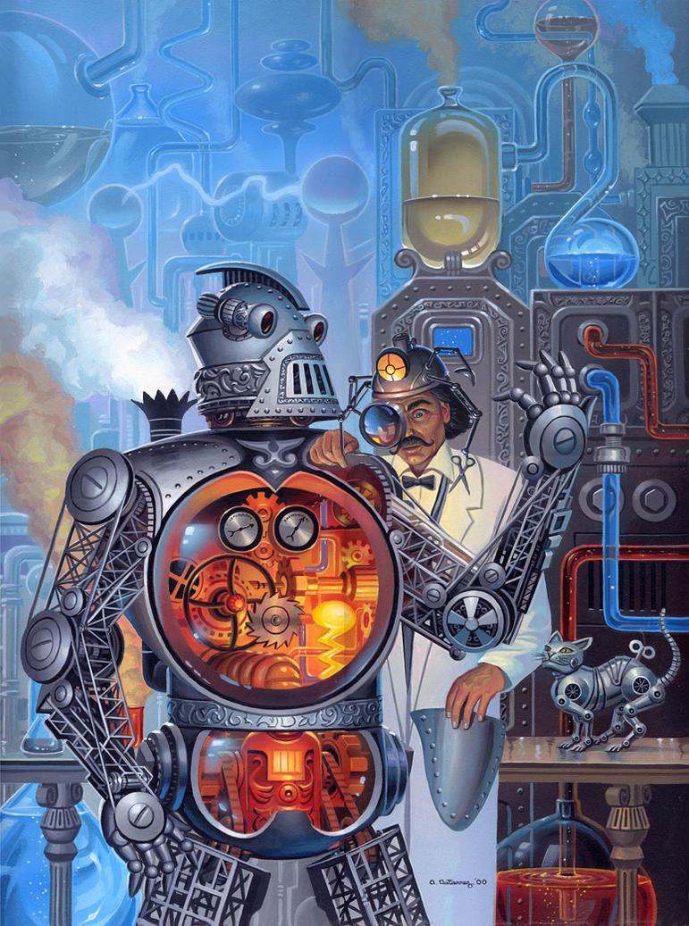 Steampunk by AlanGutierrezArt
