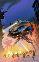 War of the Worlds by AlanGutierrezArt