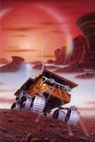 Mars Pathfinder by AlanGutierrezArt