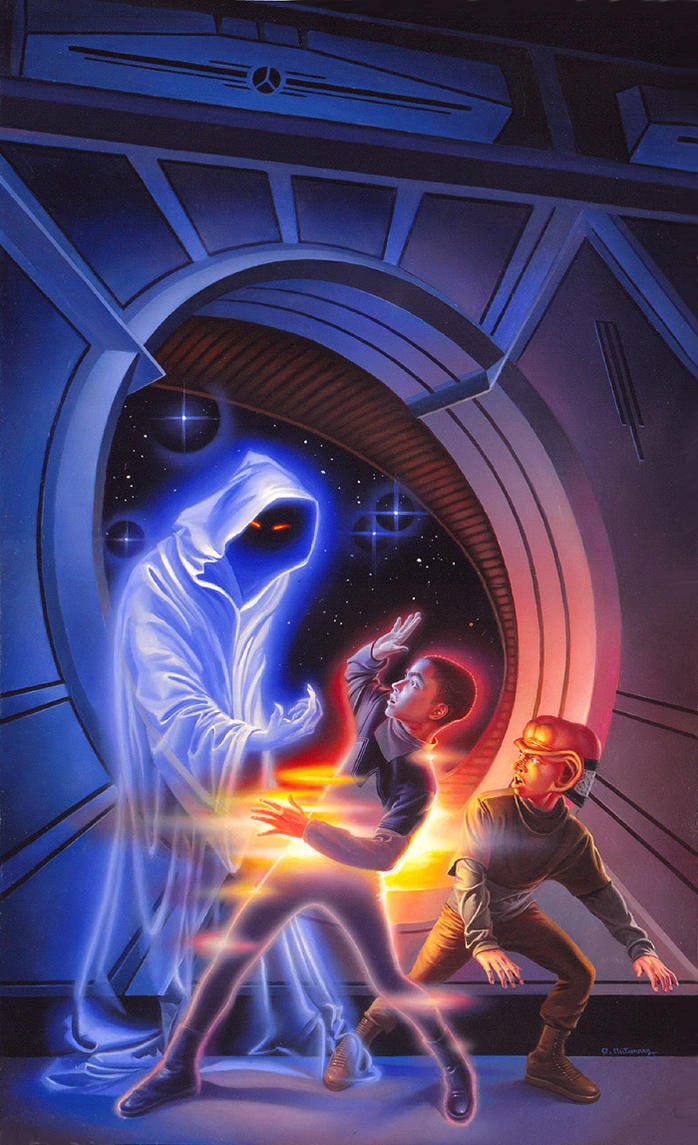 The Star Ghost by AlanGutierrezArt