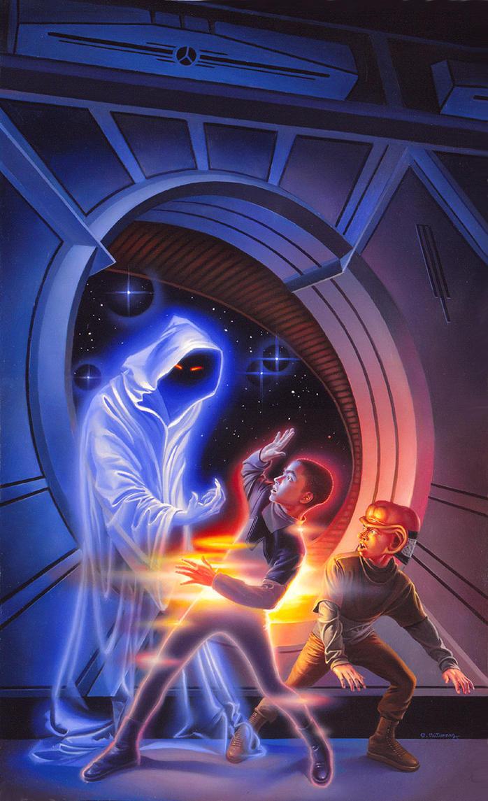 The Star Ghost by AlanGutierrezArt