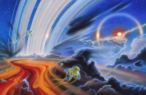 Jovian Windriders by AlanGutierrezArt