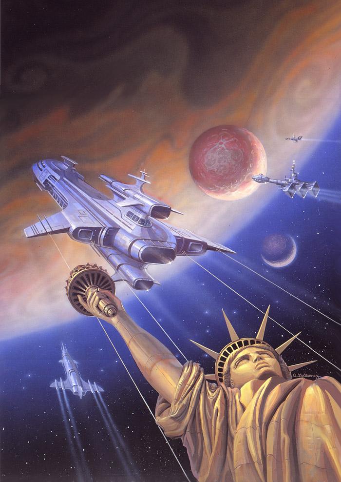 Orbit Unlimited by AlanGutierrezArt