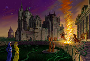 Lesson of the Fire by AlanGutierrezArt