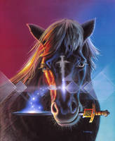 Never Look A Gift Sword in the Horse's Mouth by AlanGutierrezArt