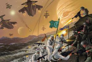 Warworld Codominium: Jihad! by AlanGutierrezArt
