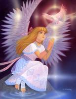 Sayuri's Prayer by AlanGutierrezArt