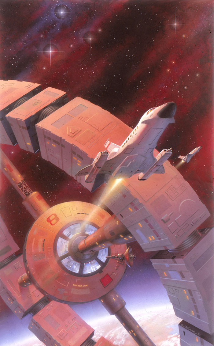 Lagrange Point by AlanGutierrezArt