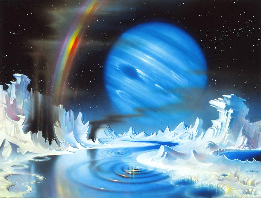 Triton's Spring Melt by AlanGutierrezArt