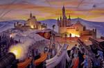 Siege Of Tarr-Hostigos by AlanGutierrezArt