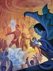 The Cardassian Imps by AlanGutierrezArt