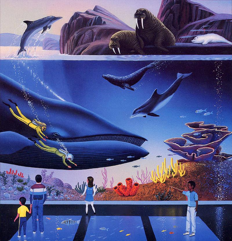 Oceanarium by AlanGutierrezArt