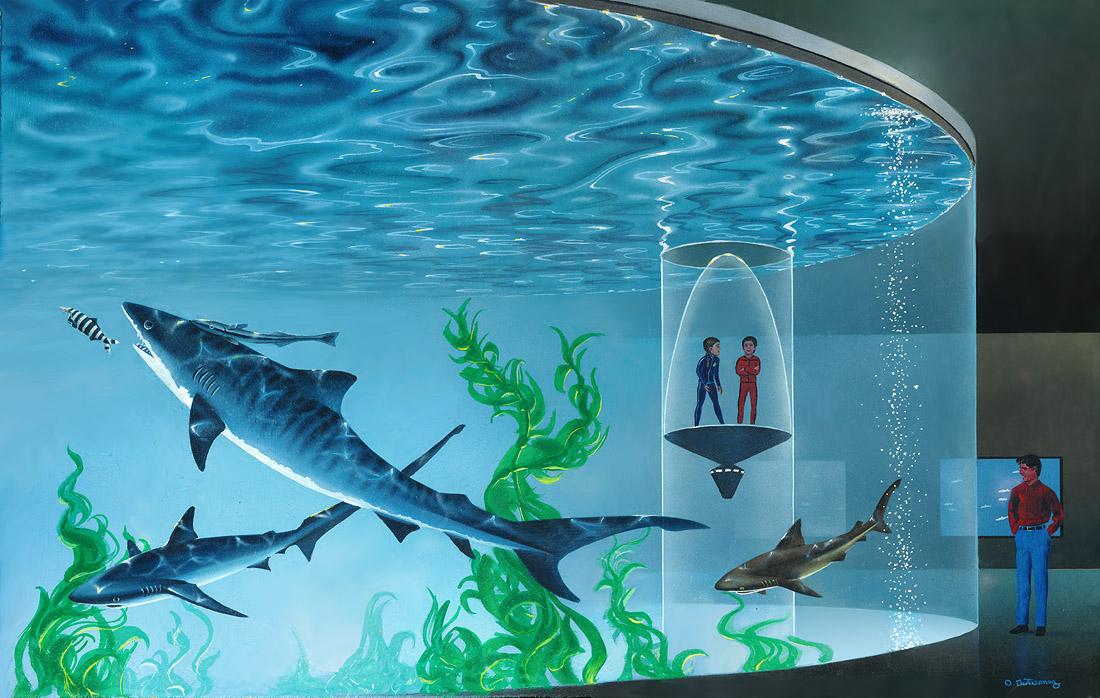 Oceanarium: Shark Tank by AlanGutierrezArt