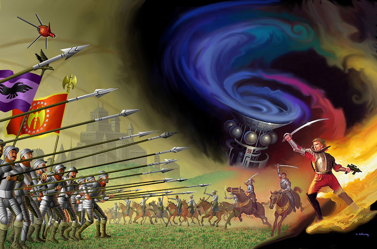 Great Kings War by AlanGutierrezArt