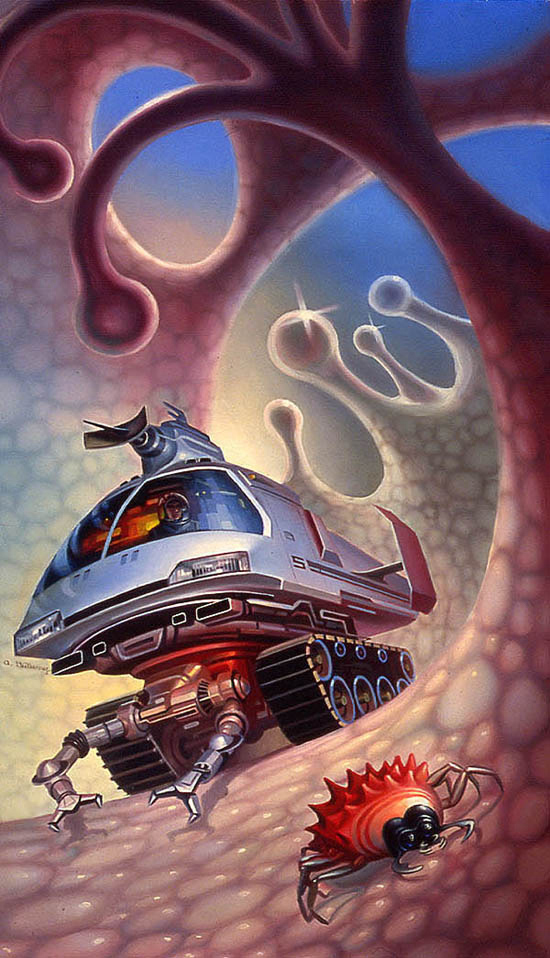 The Microverse by AlanGutierrezArt