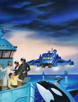 Blue Planet by AlanGutierrezArt