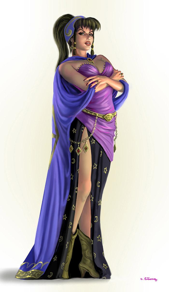 Lilith by AlanGutierrezArt