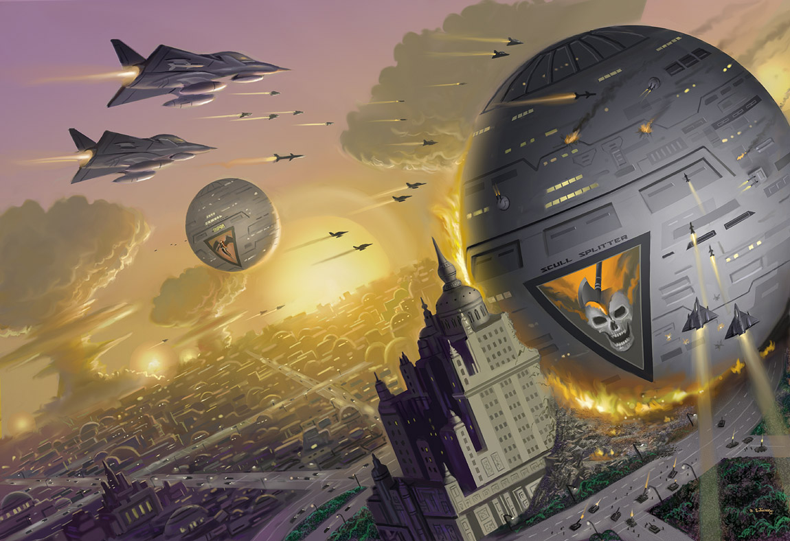 Way of the Sword Worlds by AlanGutierrezArt