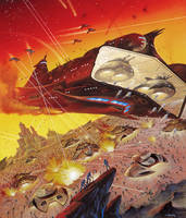 Justified Use of Military Power by AlanGutierrezArt