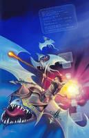 Wizard's Bane by AlanGutierrezArt