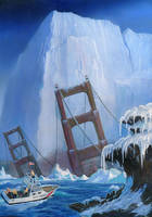 The Coming Ice Age by AlanGutierrezArt