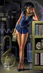 Dark Mercury by AlanGutierrezArt