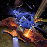 Silent Death: Space Junk by AlanGutierrezArt