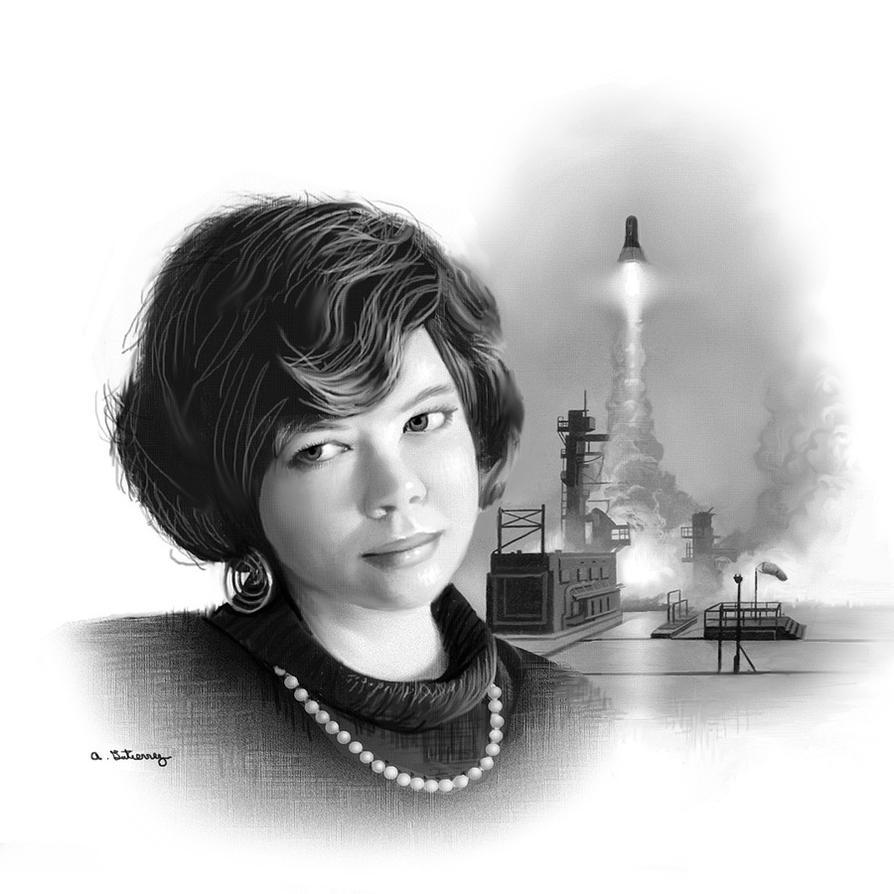 Aleta Jackson Memorial Art by AlanGutierrezArt
